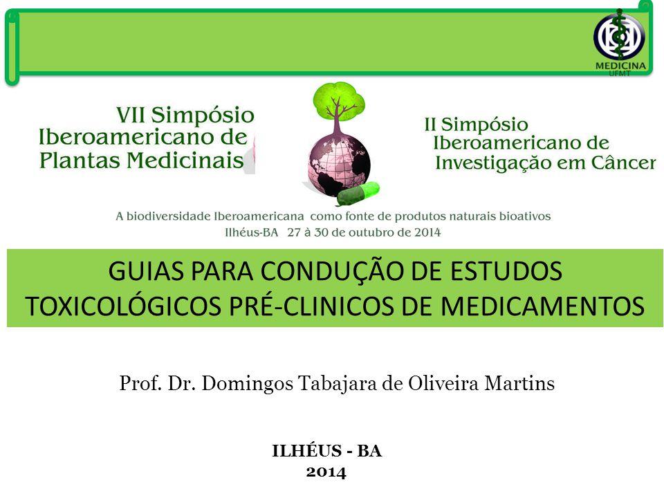Prof. Dr. Domingos Tabajara de Oliveira Martins