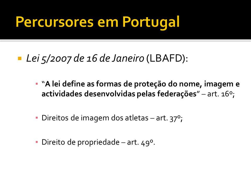Percursores em Portugal
