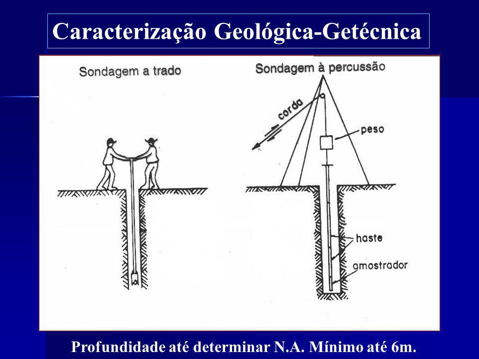 Caracterização Geológica-Getécnica