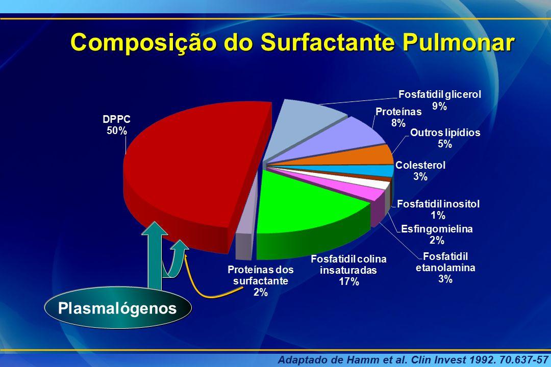 Composição do Surfactante Pulmonar