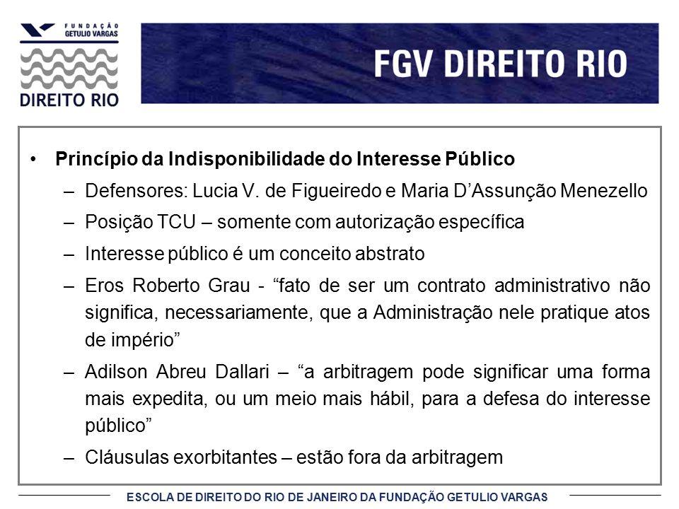 Princípio da Indisponibilidade do Interesse Público