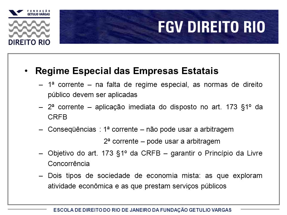 Regime Especial das Empresas Estatais