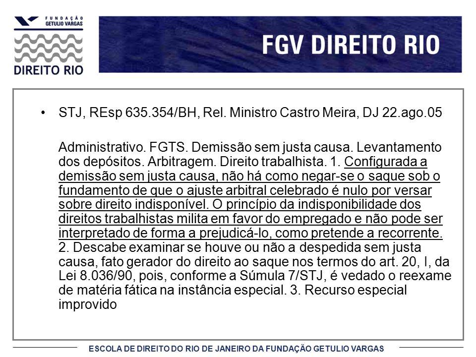STJ, REsp 635.354/BH, Rel. Ministro Castro Meira, DJ 22.ago.05