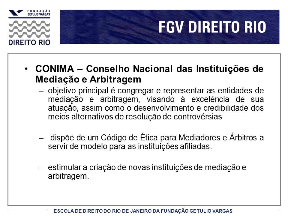 CONIMA – Conselho Nacional das Instituições de Mediação e Arbitragem