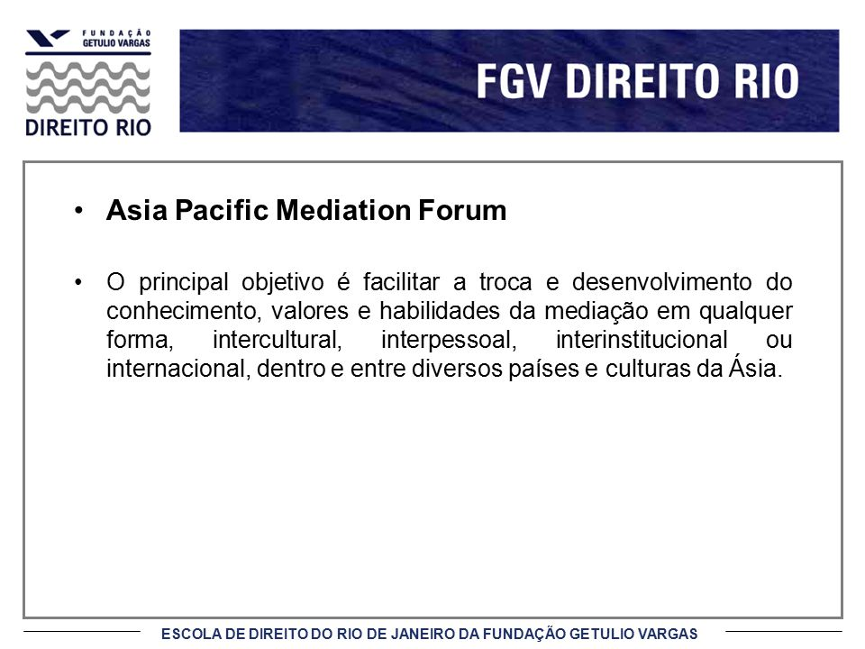Asia Pacific Mediation Forum