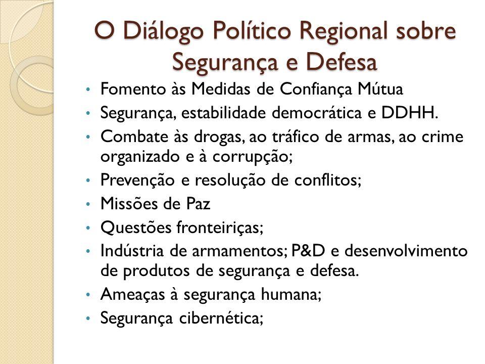 O Diálogo Político Regional sobre Segurança e Defesa