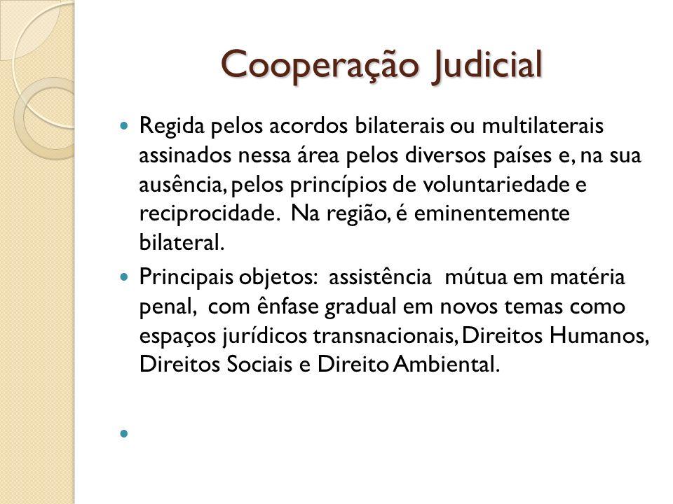 Cooperação Judicial