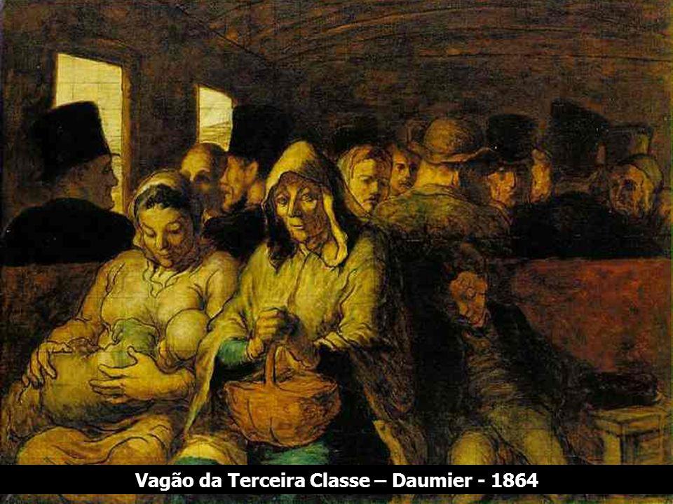 Vagão da Terceira Classe – Daumier - 1864