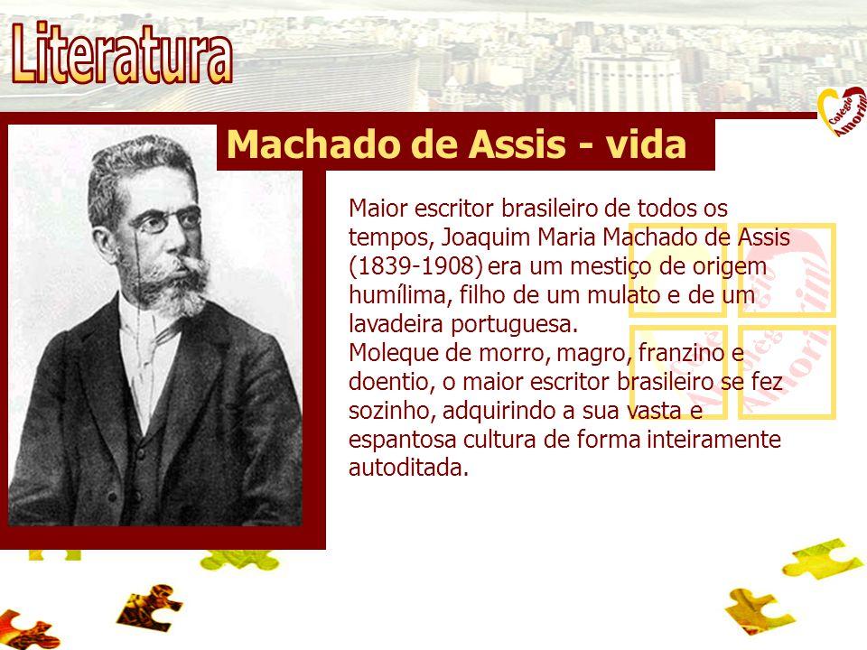Literatura Machado de Assis - vida