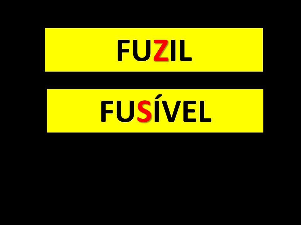 FUZIL FUSÍVEL