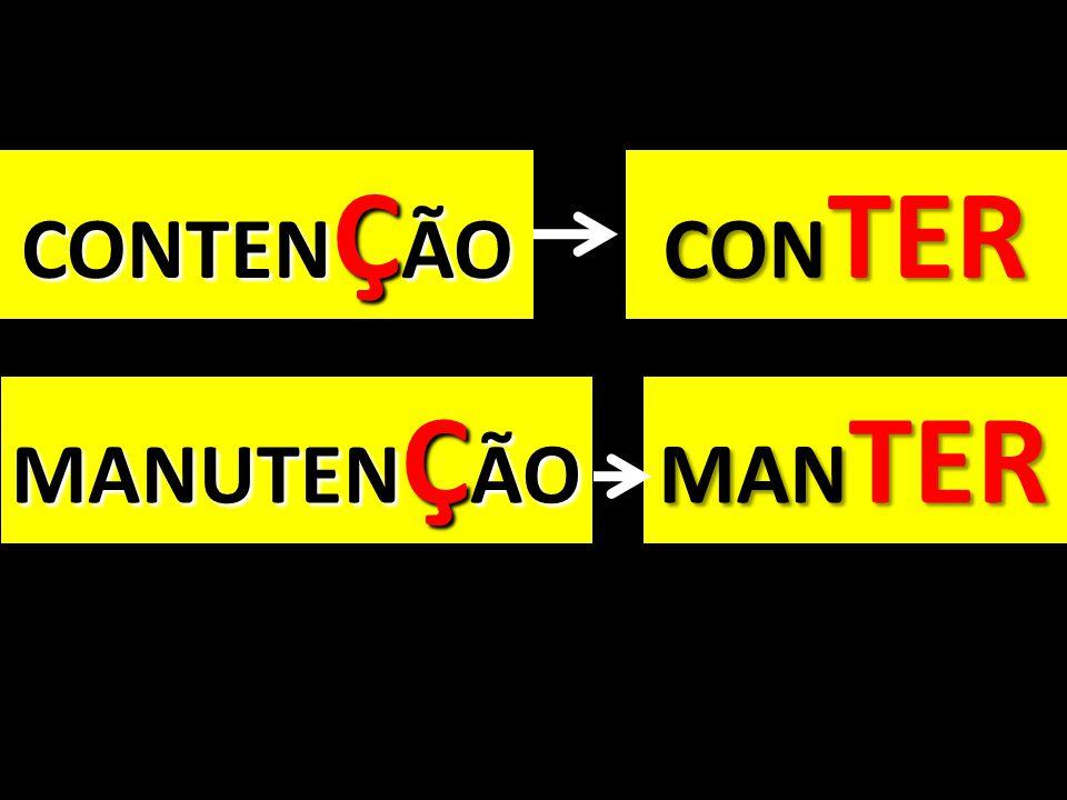 CONTENÇÃO CONTER MANTER