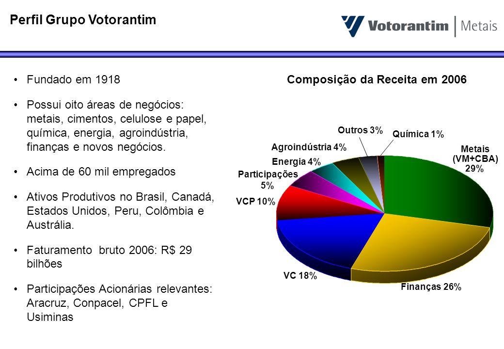 Perfil Grupo Votorantim