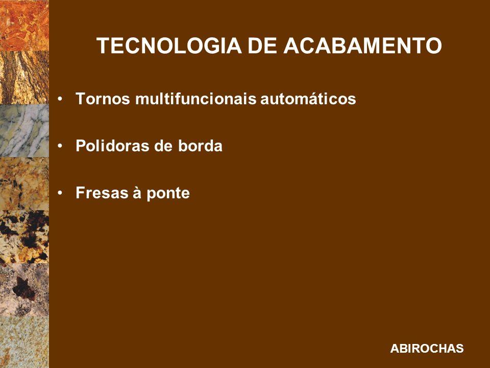 TECNOLOGIA DE ACABAMENTO