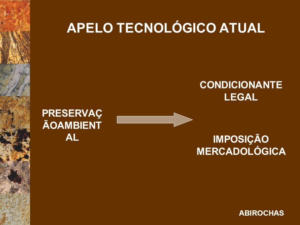 APELO TECNOLÓGICO ATUAL