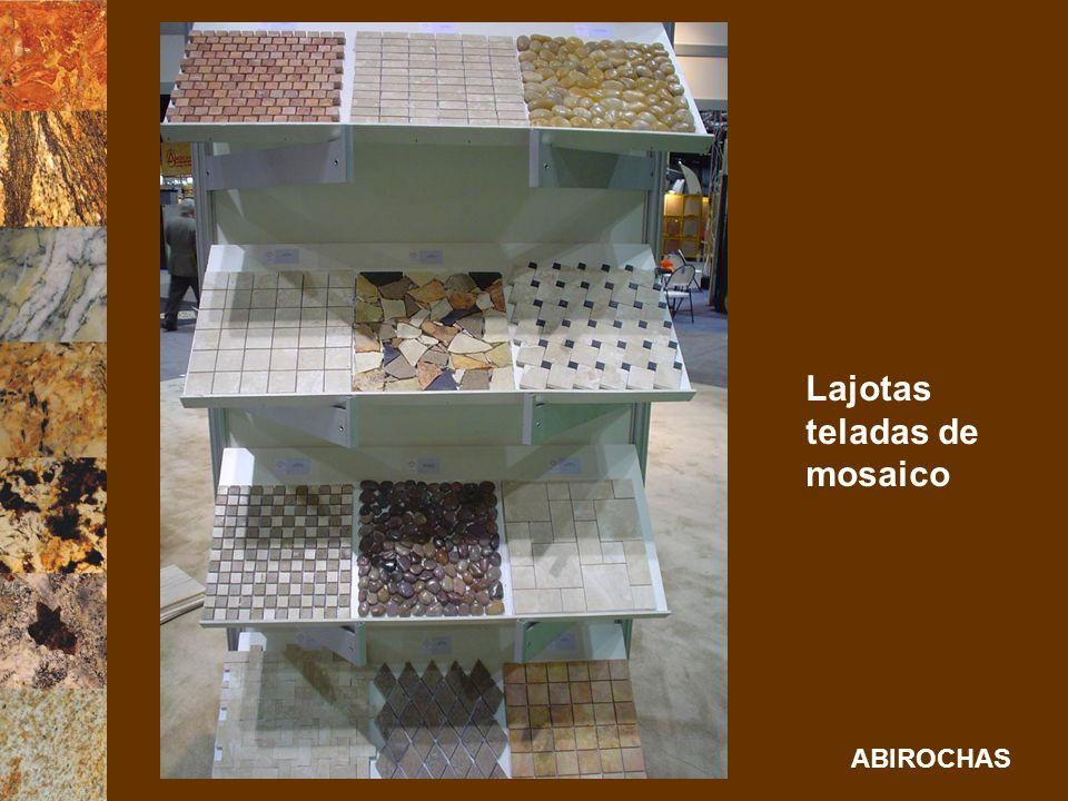 Lajotas teladas de mosaico