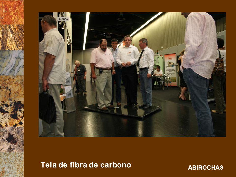Tela de fibra de carbono