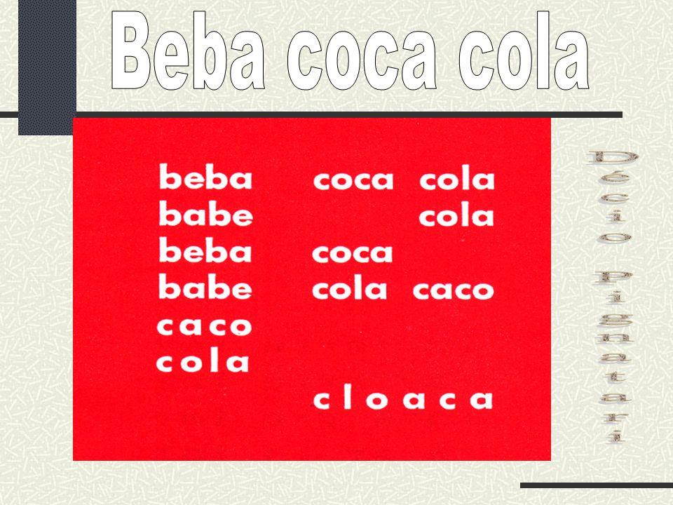 Beba coca cola Décio Pignatari
