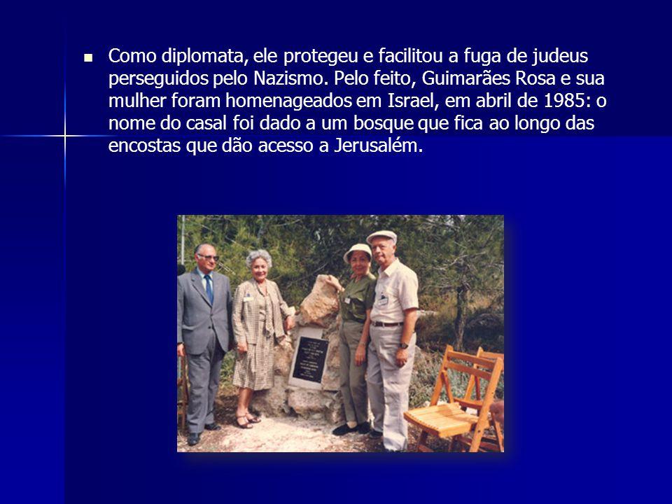 Como diplomata, ele protegeu e facilitou a fuga de judeus perseguidos pelo Nazismo.