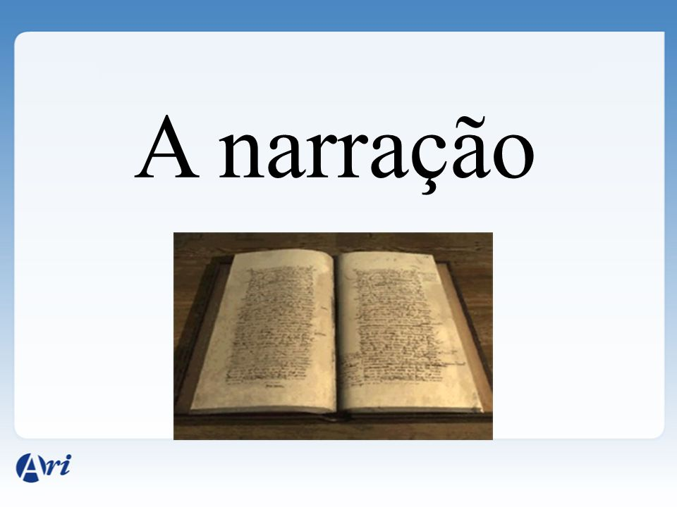 A narração