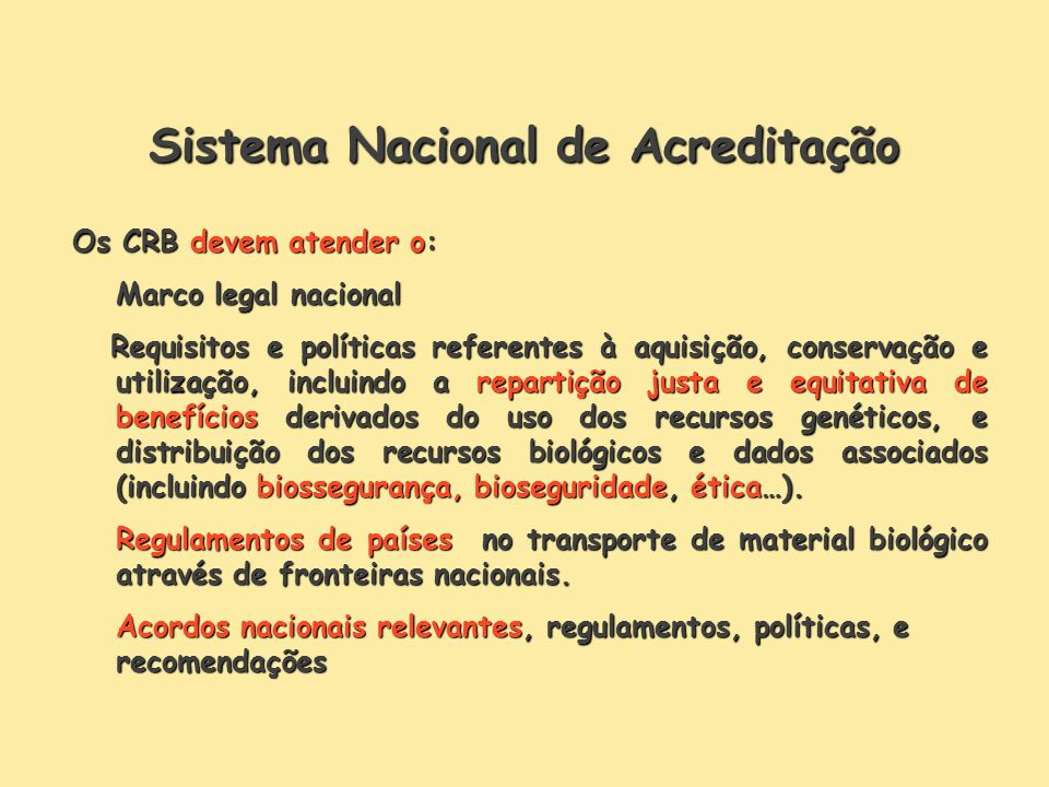 Sistema Nacional de Acreditação