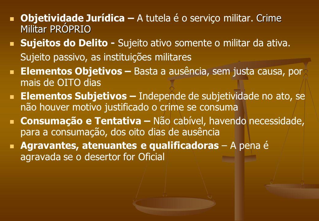 Objetividade Jurídica – A tutela é o serviço militar