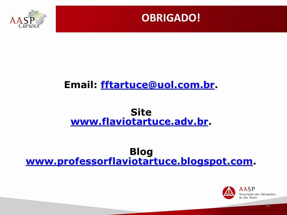 Blog www.professorflaviotartuce.blogspot.com.