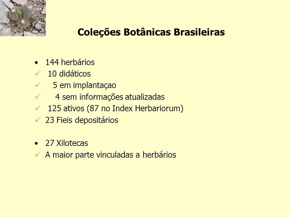 Coleções Botânicas Brasileiras