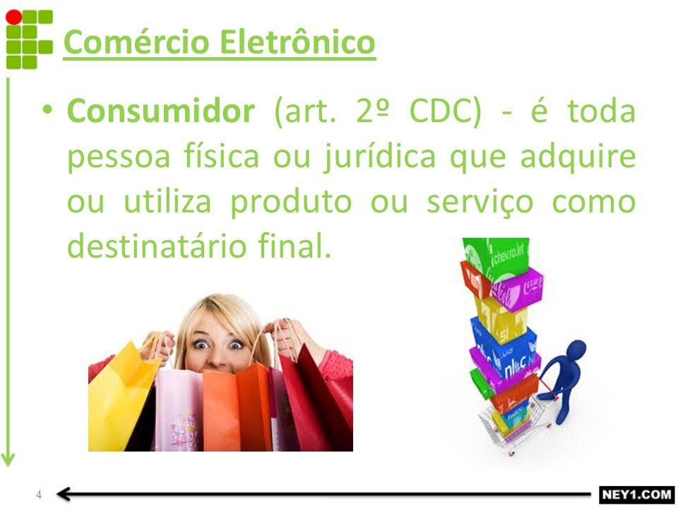 Comércio Eletrônico Consumidor (art.