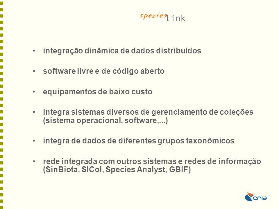 integração dinâmica de dados distribuídos