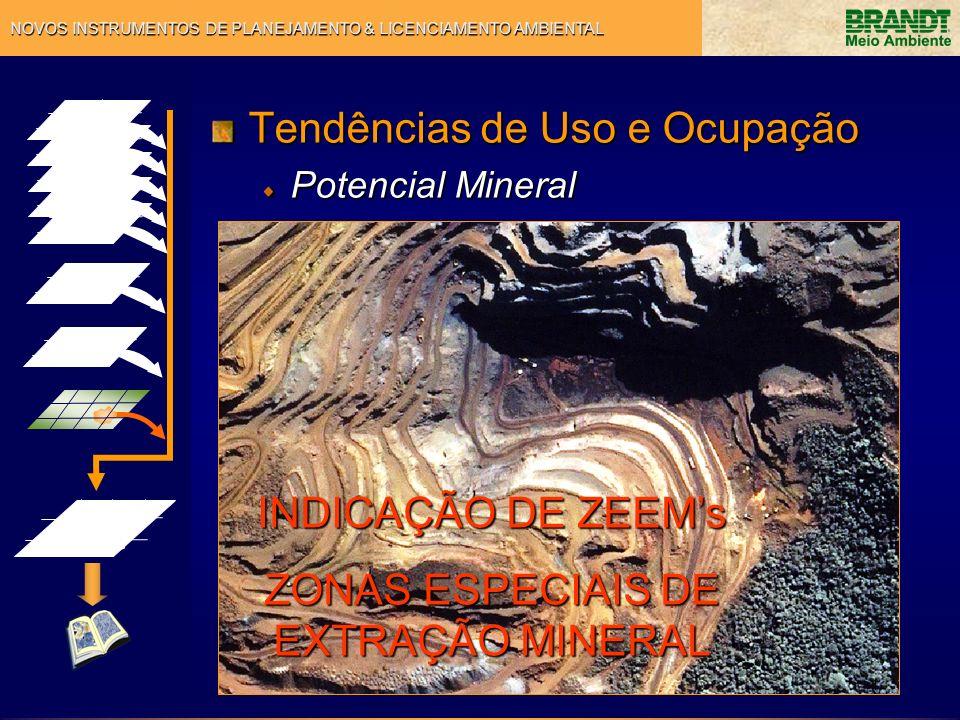 ZONAS ESPECIAIS DE EXTRAÇÃO MINERAL
