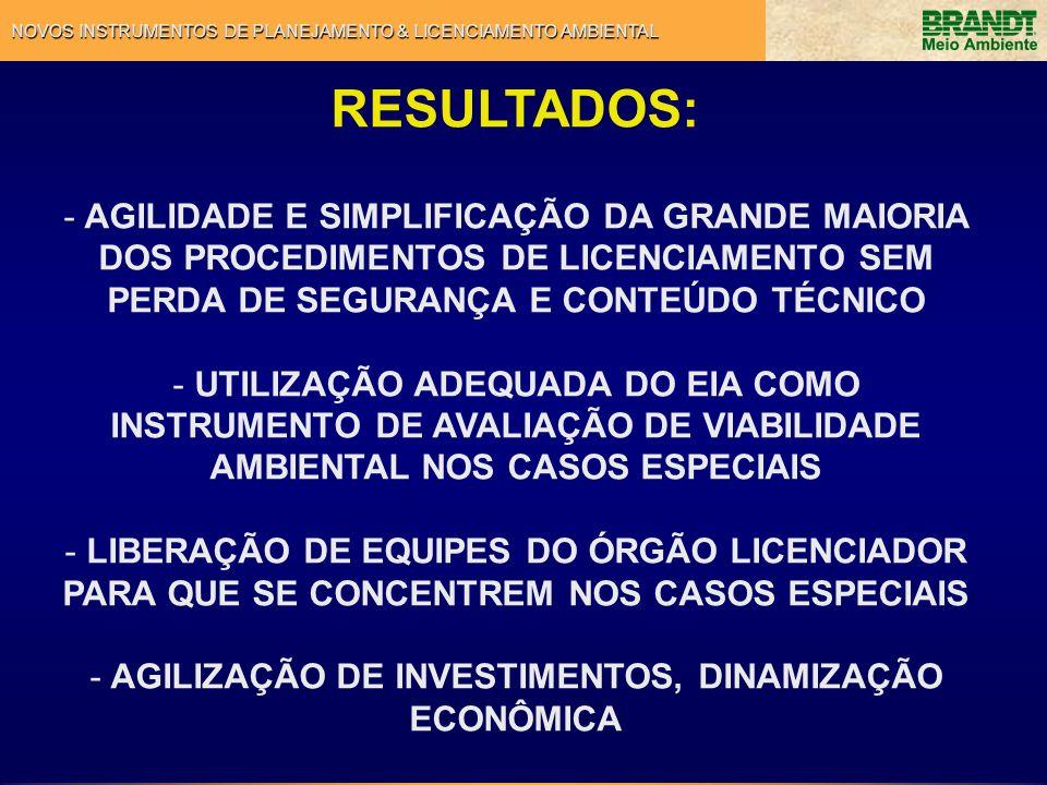 AGILIZAÇÃO DE INVESTIMENTOS, DINAMIZAÇÃO ECONÔMICA
