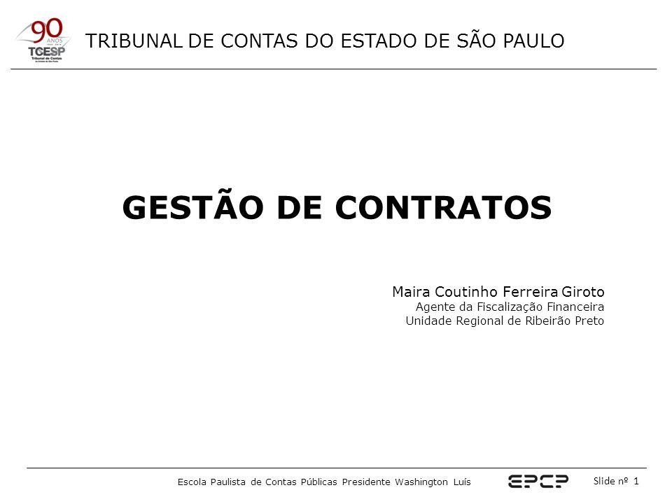 GESTÃO DE CONTRATOS Maira Coutinho Ferreira Giroto