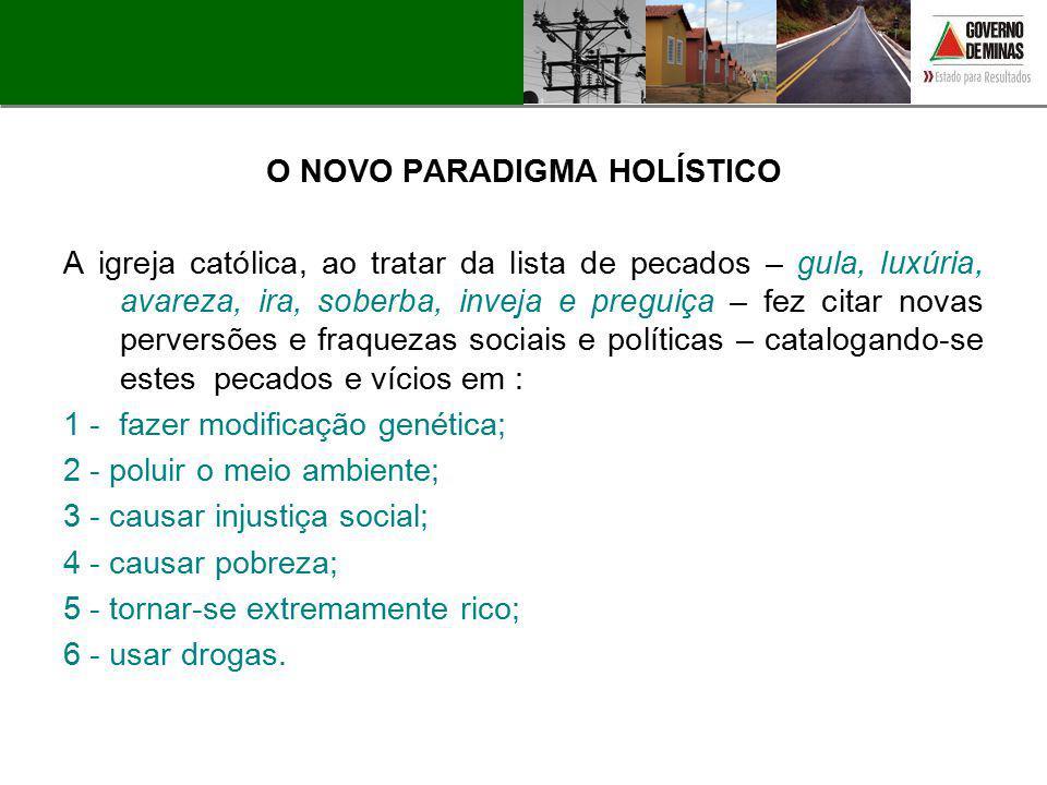O NOVO PARADIGMA HOLÍSTICO