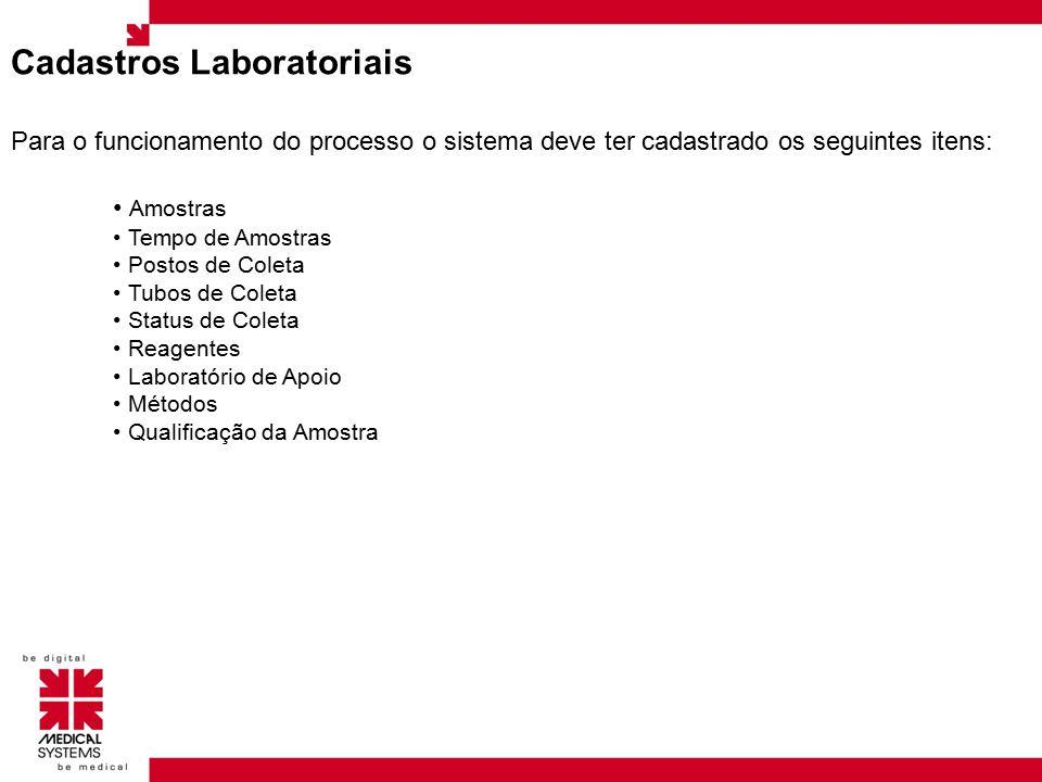 Cadastros Laboratoriais