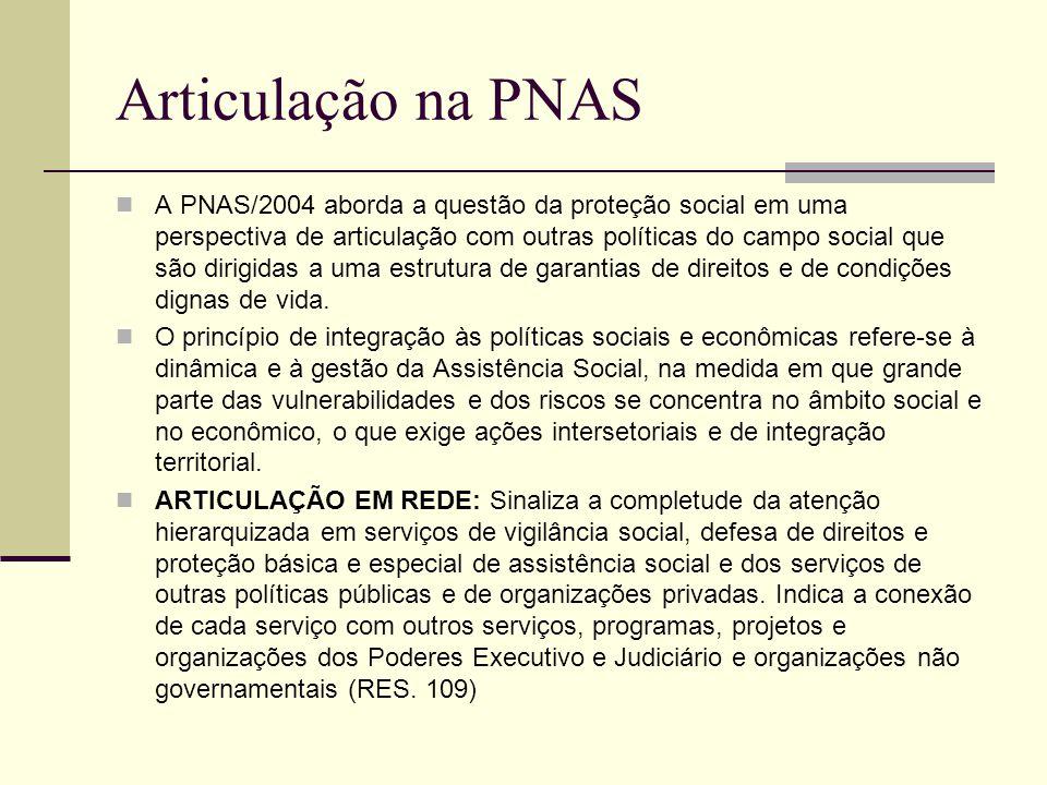 Articulação na PNAS