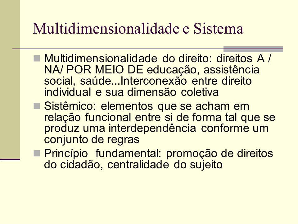 Multidimensionalidade e Sistema