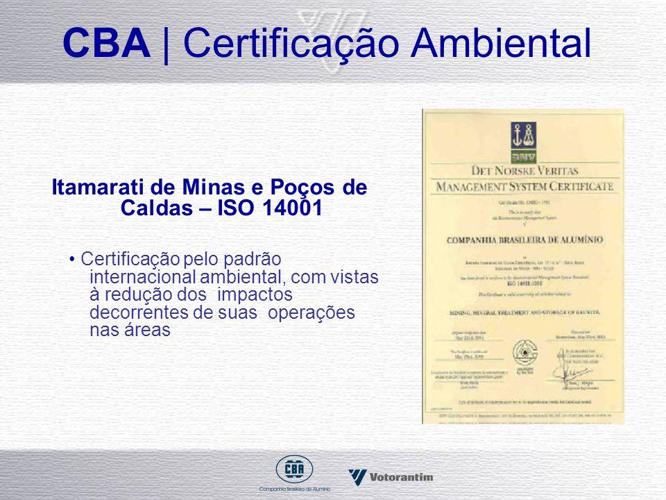 CBA | Certificação Ambiental