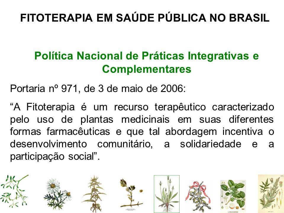Política Nacional de Práticas Integrativas e Complementares