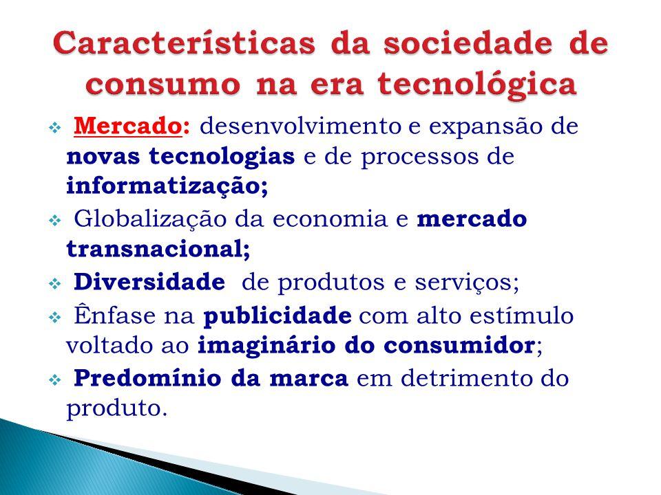 Características da sociedade de consumo na era tecnológica