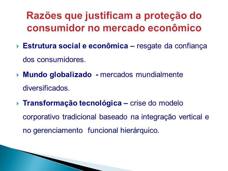 Razões que justificam a proteção do consumidor no mercado econômico