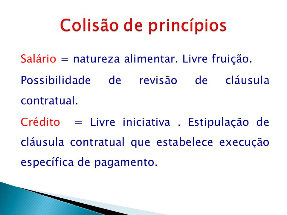 Colisão de princípios