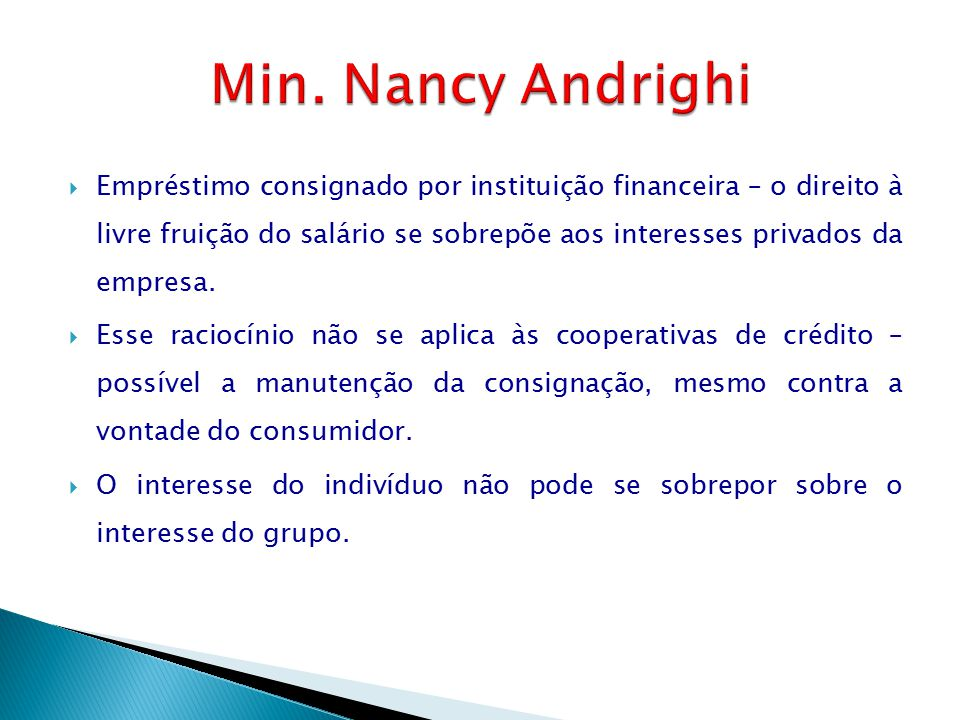 Min. Nancy Andrighi