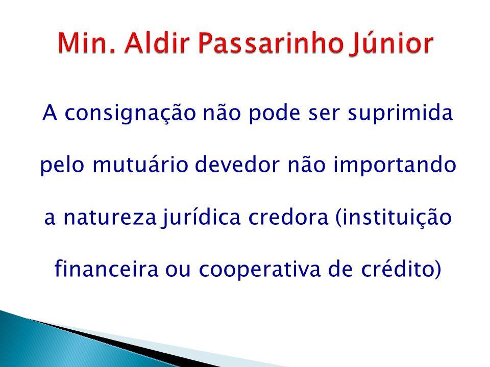 Min. Aldir Passarinho Júnior