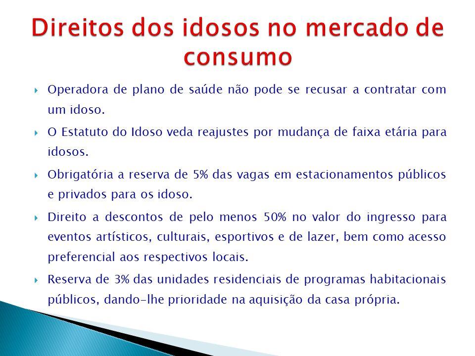 Direitos dos idosos no mercado de consumo
