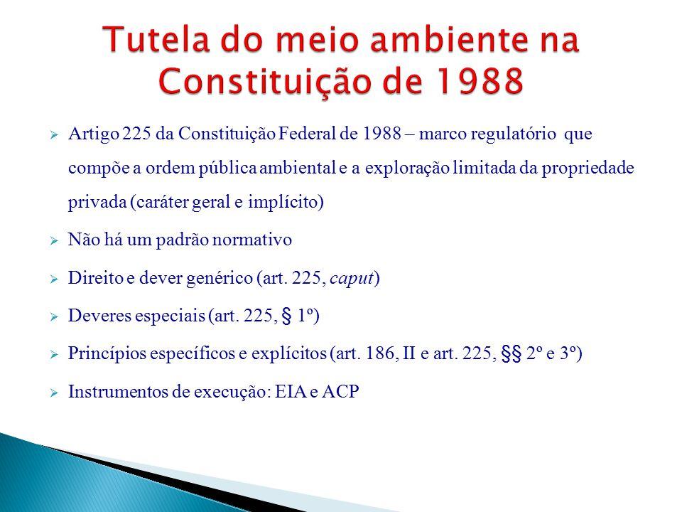 Tutela do meio ambiente na Constituição de 1988