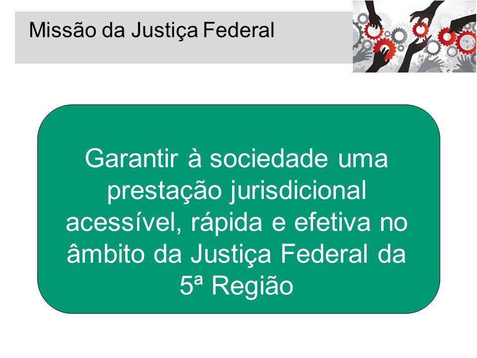 Missão da Justiça Federal