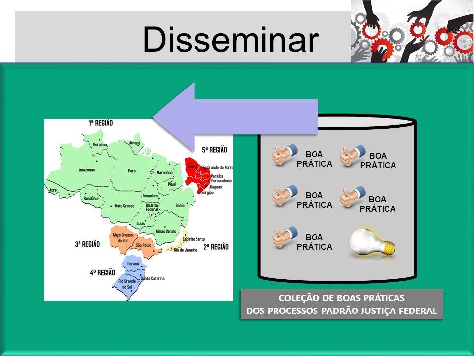 COLEÇÃO DE BOAS PRÁTICAS DOS PROCESSOS PADRÃO JUSTIÇA FEDERAL