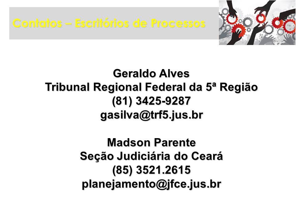 Tribunal Regional Federal da 5ª Região Seção Judiciária do Ceará