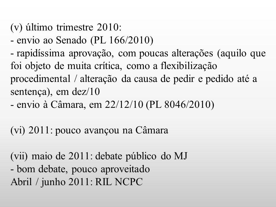 - envio à Câmara, em 22/12/10 (PL 8046/2010)