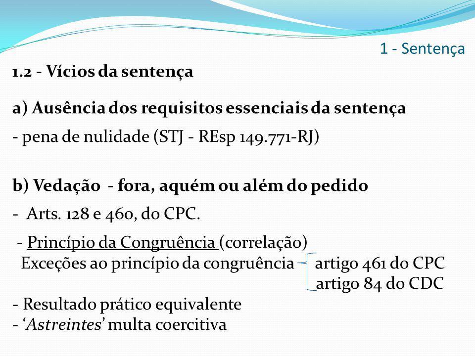 1 - Sentença
